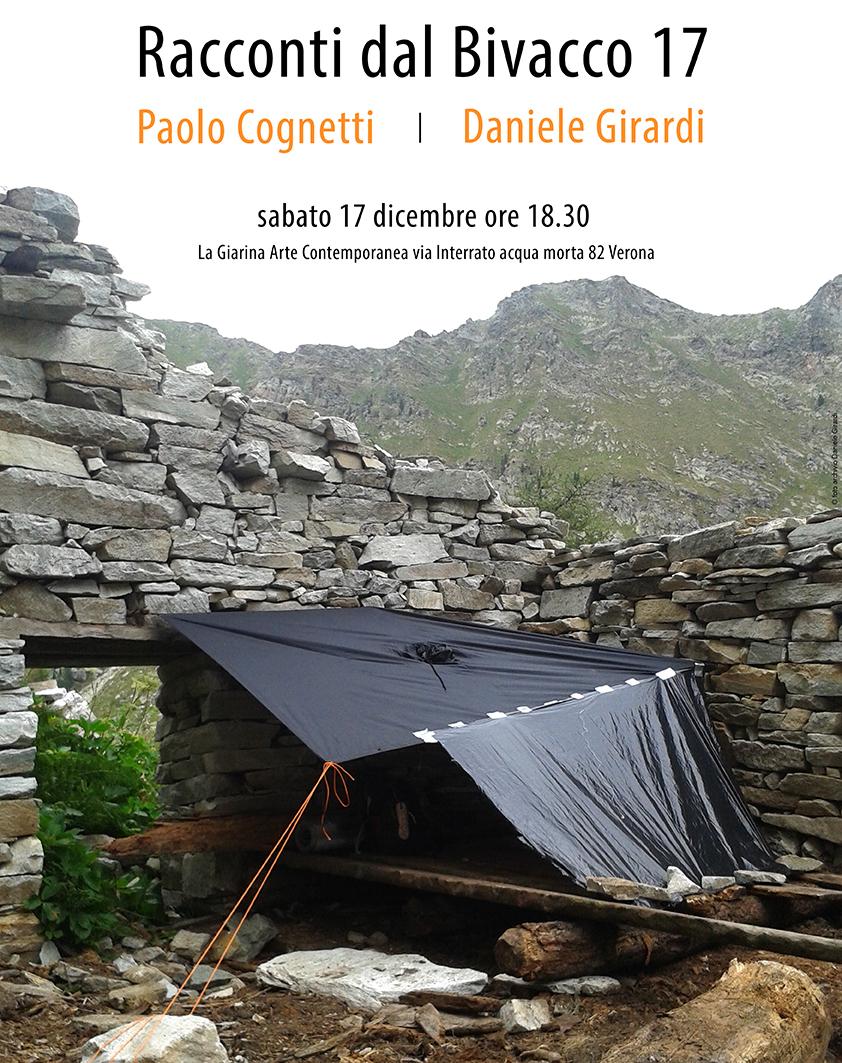 Daniele Girardi, Bivacco 17, installazione site-specific, 2016, art work, art installation, Paolo Cognetti