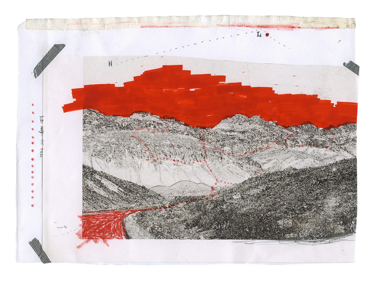 Daniele Girardi, art residency, art project, art works, opere, natura, wilderness, Val Grande, disegni, mappe, esplorazione, artista contemporaneo, arti visive