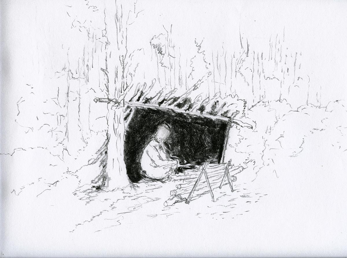 Daniele Girardi, art residency, art project, art works, opere, natura, wilderness, Val Grande, disegni, mappe, esplorazione, artista contemporaneo, arti visive, disegno, drawing