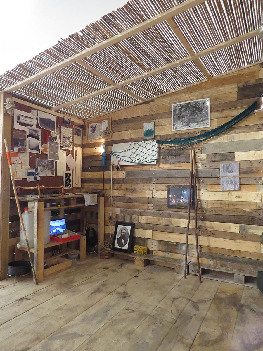 Daniele Girardi, Bivacco 17, installazione site-specific, 2016, art work, art installation