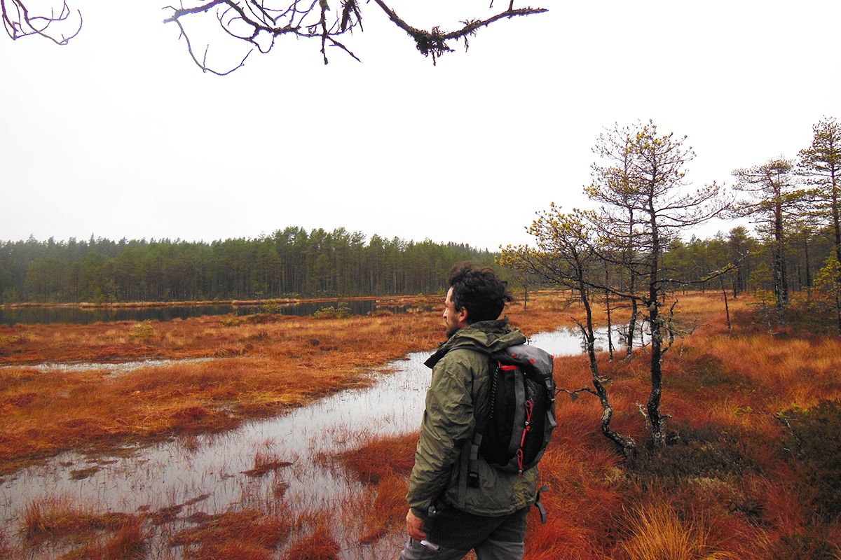 Daniele Girardi, North Way , art project, site-specific art, art residency, Norvegia, Svezia, Finlandia