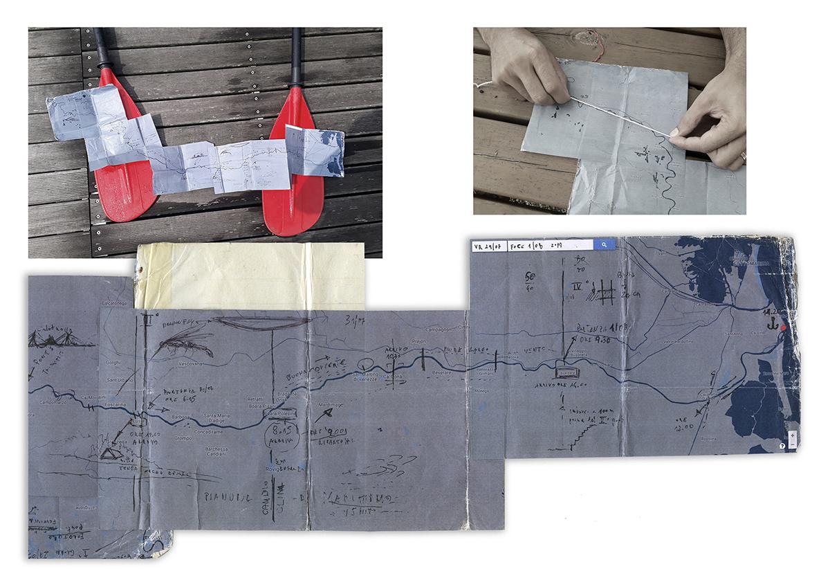 Daniele Girardi, Panta Rhei, art residency, art project, site-specific art