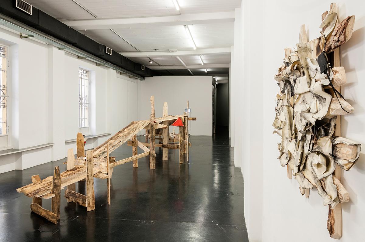 Daniele-Girardi , Cronache Selvatiche, installazione site-specific, art exhibition