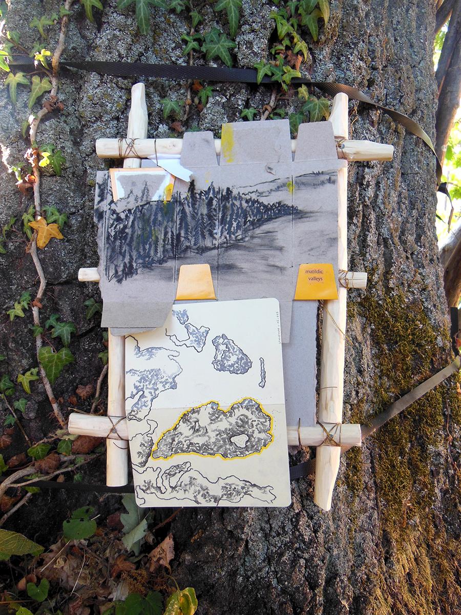 Daniele Girardi, sketch map, drawing, scultura, art work, disegno