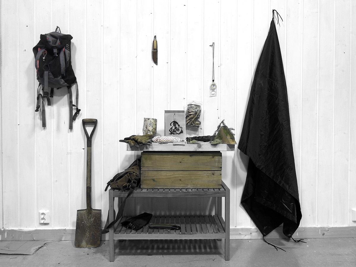 Daniele Girardi, artproject, Norvegia, residenza arte, site specific installation, installazione