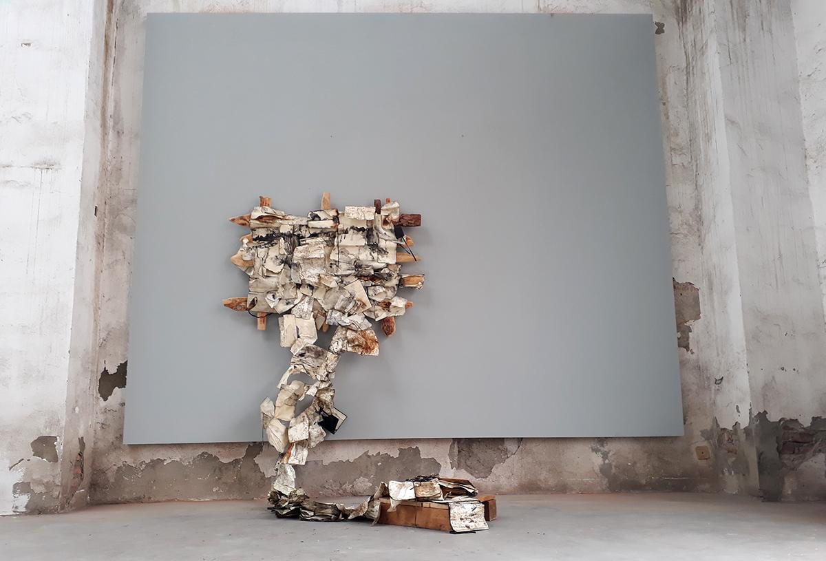 Daniele Girardi , opera d arte, Galleria MIchela Rizzo, Sketch Wild Book, artista