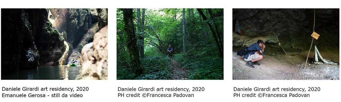 Daniele girardi art residency Val di Non 2020