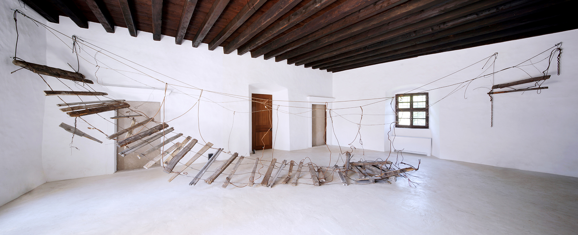 Daniele Girardi, Abaton, 2021, site specific installation- installazione arte-