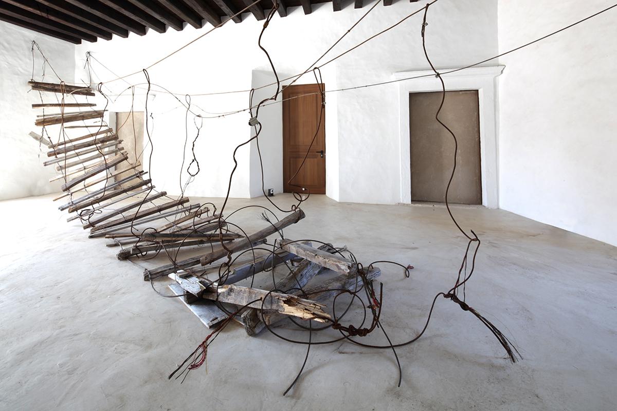 Daniele Girardi, Abaton, 2021, sire specific installation, installazione site specific, art work, opera