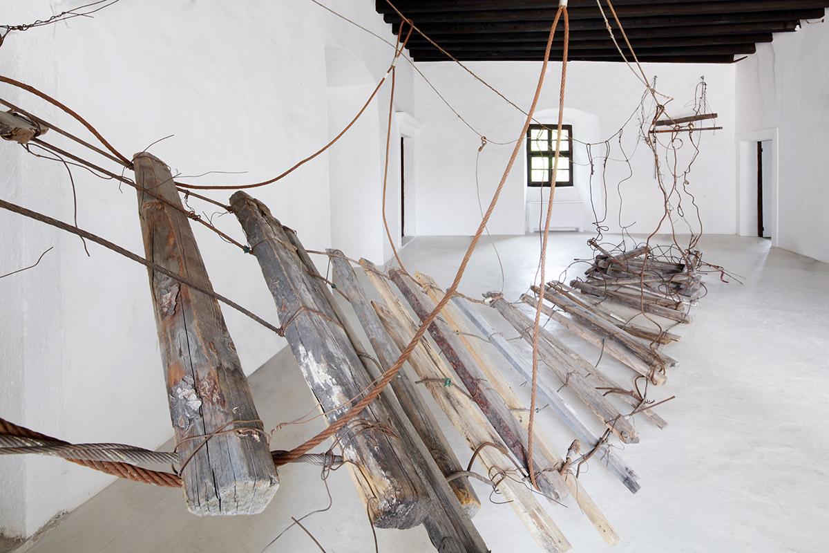 Daniele Girardi, Abaton, 2021, installazione site-specific, art installation, artist, opera, artista
