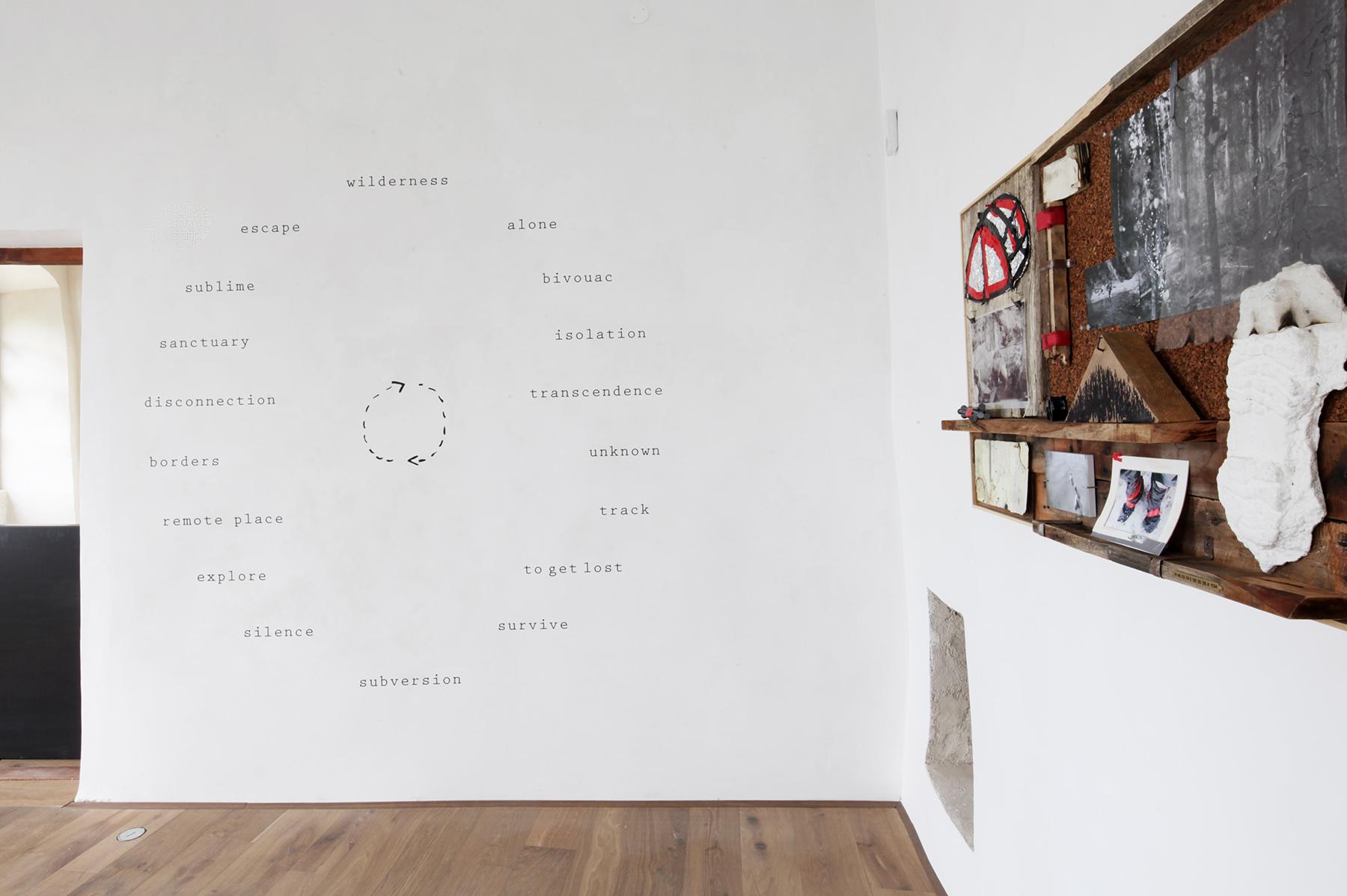 Daniele Girardi, 2021, Mandala TT, site-specific installation, opera arte, installazione arte