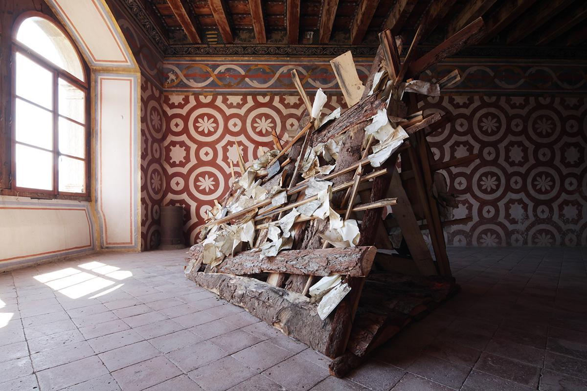 Daniele Girardi, 2021, Refuge, site-specific installation, art work, opera arte, artista